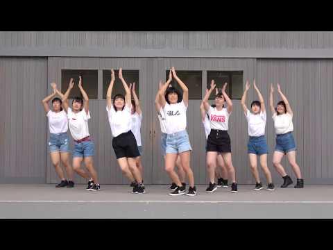 常磐大学高等学校ダンス部2曲目『L.A.Boyz』@常磐大学・2019年ときわ祭