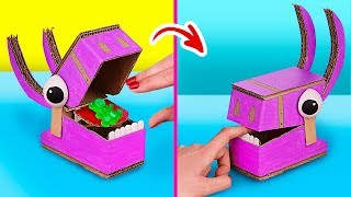 6 Things You Do With Your BFF / Amazing Cardboard Games