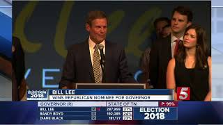 Election Recap: Dean, Lee To Faceoff In Tennessee Governor's Race
