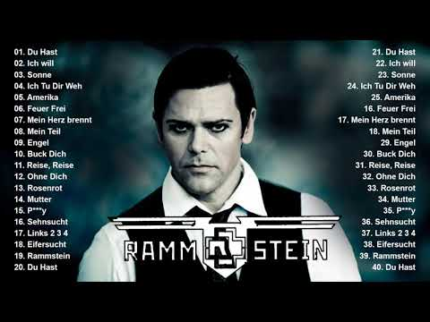 R A M M S T E I N Greatest Hits Full Album - Best Songs Of R A M M S T E I N Playlist 2021