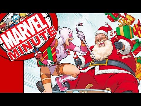 Seasons Grootings! - Marvel Minute 2017