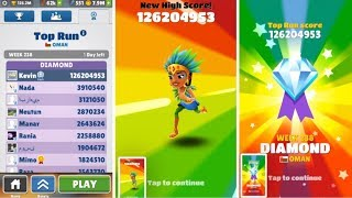 Over 125 Million Points on Subway Surfers! No Hacks or Cheats!