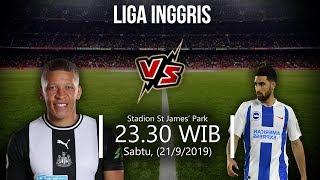 VIDEO: Live Streaming Liga Inggris Newcastle Vs Brighton Sabtu (21/9) Pukul 23.30 WIB