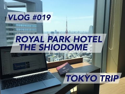 Tokyo Trip – Royal Park Hotel The Shiodome | Hotel Review | Trip Report [1080p60]
