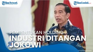 Keputusan Pembentukan Holding Industri Pertahanan Kini di Tangan Jokowi