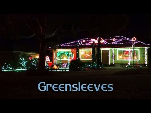 ryanschristmaslights - Greensleeves (What Child Is This?)