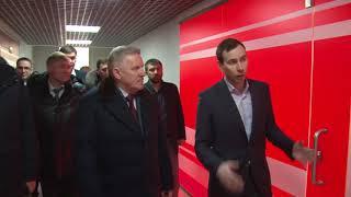 Вячеслав Шпорт проинспектировал объекты долгосрочного п...