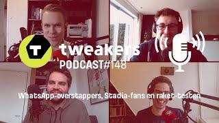 Tweakers Podcast #148 - WhatsApp-overstappers, Stadia-fans en raket-testen