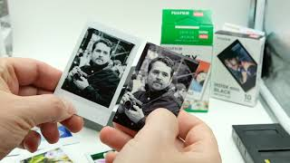 FUJIFILM INSTAX Compared To Polaroid ZIP With Zink Paper