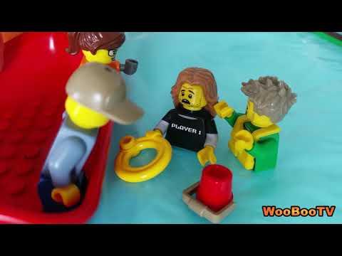 LASTENOHJELMIA SUOMEKSI - Lego city - Merihätä - osa 3