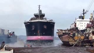 В последний путь. Корабли выбрасываются на берег.