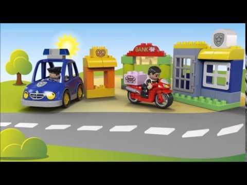 Vidéo LEGO Duplo 10532 : L'intervention de la police