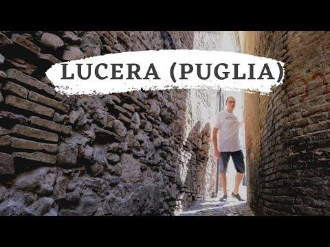 Preview video Scopriamo Lucera, fulcro della Daunia, collocata in terra di Puglia