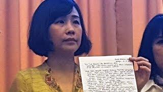 Isi Surat Ahok yang Membuat Veronica Tan Berurai Air Mata