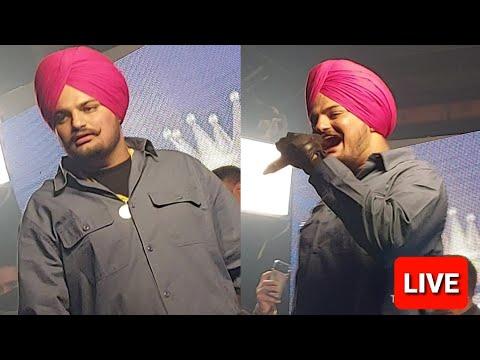 Sidhu Moose Wala full Live Show Culture Club Chandigarh