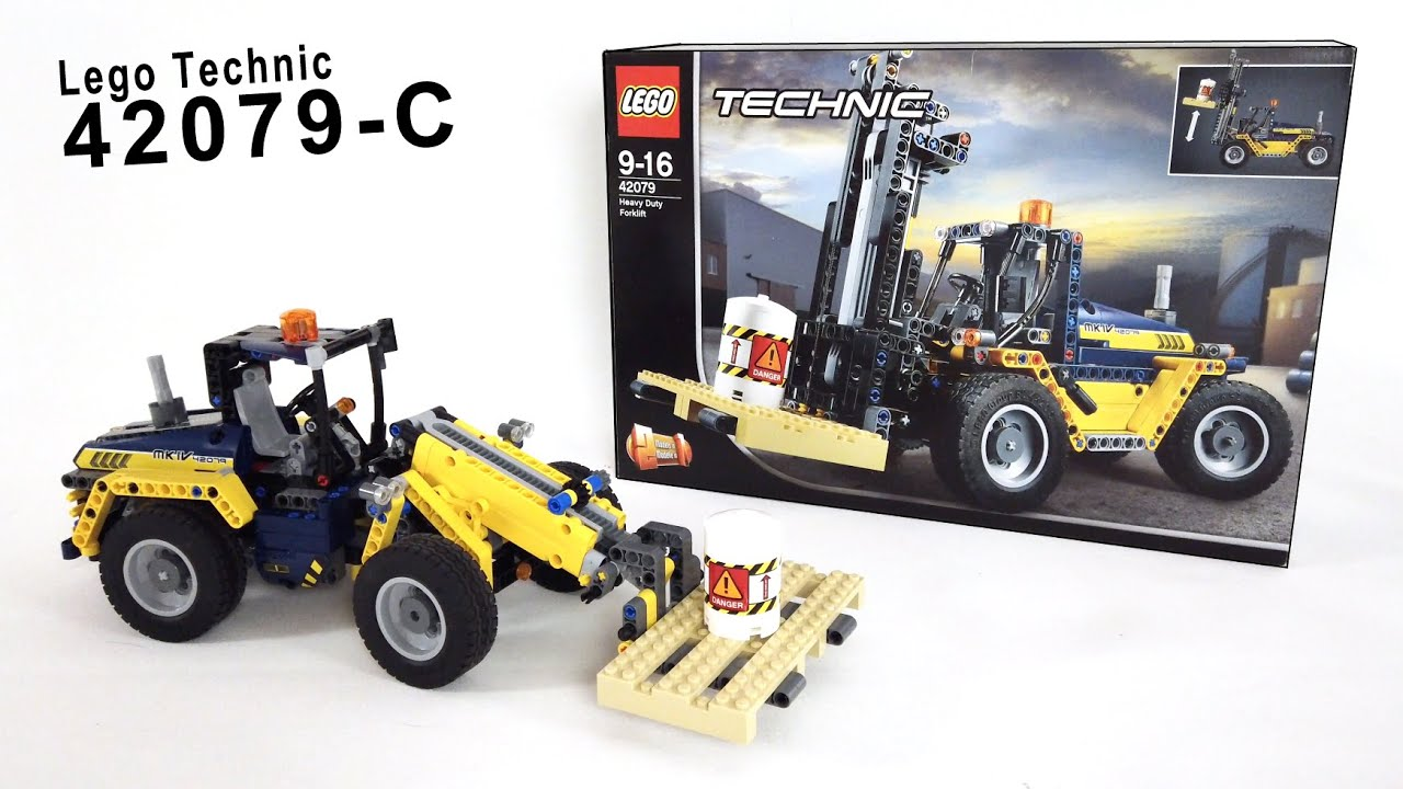 Lego Technic 42079-C Model - Wheel Loader
