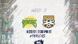 USL LIVE - Tampa Bay Rowdies vs Charleston Battery 4/22/17