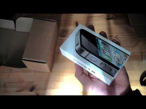 iPhone 4S 64GB schwarz Unboxing deutsch - felixba94