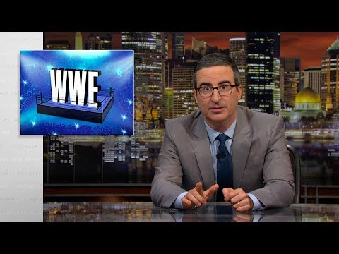 Download WWE: Last Week Tonight with John Oliver (HBO) Mp4 HD Video and MP3