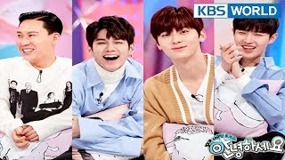 Guests : Lee Sangmin, Wanna One(Ong Seongwu, Jaehwan, Minhyun) [Hello Counselor/ENG,THA/2018.03.26]