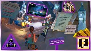 Fortnite Creative Croft Manor Hub Quests Training Course Hedgemaze Sundial Spray Code in Description