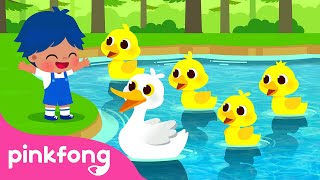 Little Ducklings🐥   Pinkfong's Farm Animals   Nursery Rhymes   Pinkfong Songs for Children