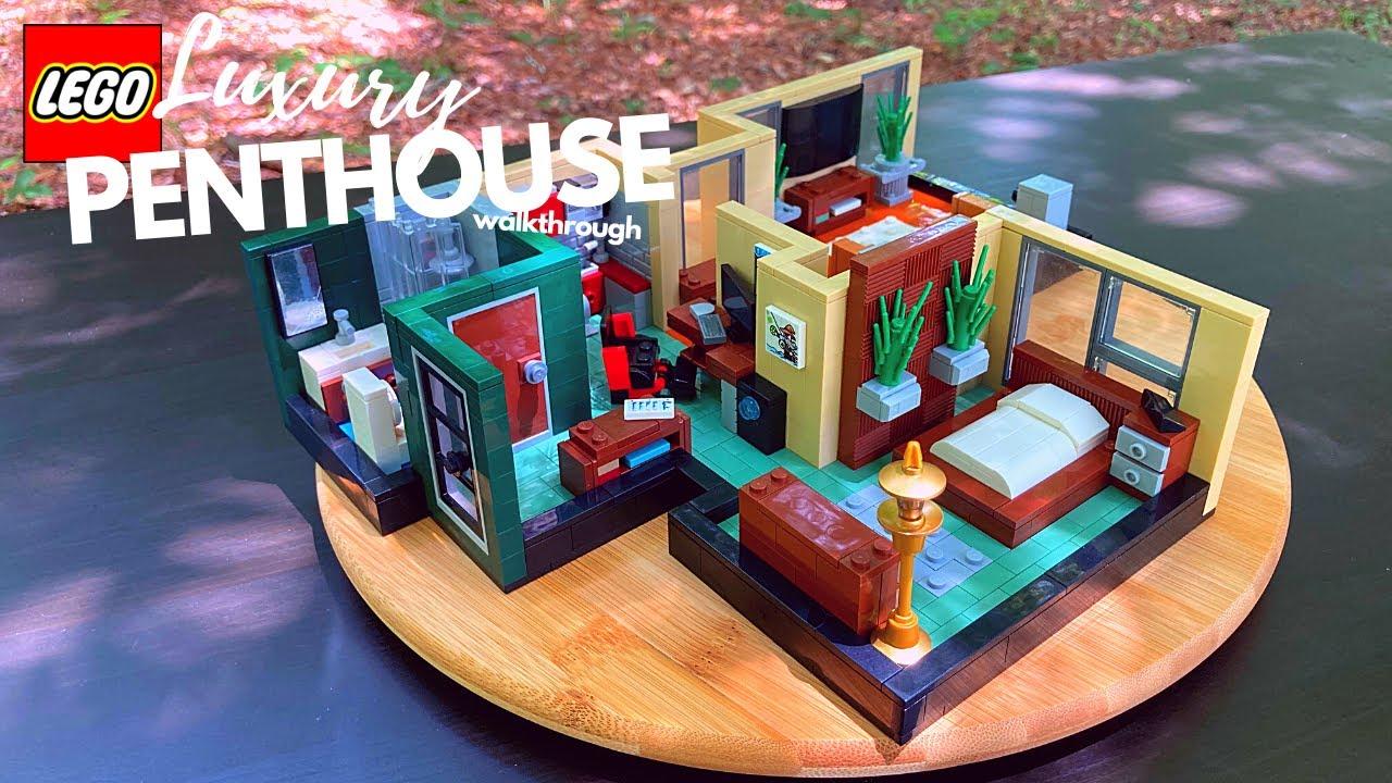 LEGO Luxury Penthouse // MOC Walk-through