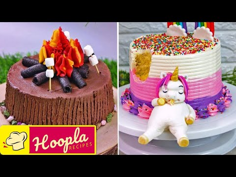 Birthday Cake Decorating Ideas | Easy Recipes by Hoopla Recipes