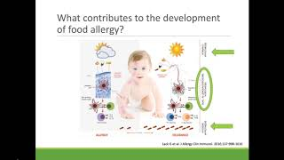 Updated guidance on the early introduction of allergens to prevent the development of food allergies