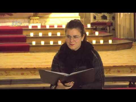 Vêpres du 8 décembre 2020 à Saint-Germain-l'Auxerrois