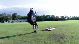 How to fly a Paraglider, Setup and Ground handling