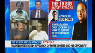 Nation At 9 BJP Ups The Ante Against Rahul Gandhi Terms Him A Disruptor