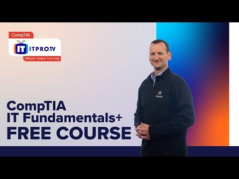 CompTIA IT Fundamentals+ (FC0-U61) Exam Prep Intro | Free ...