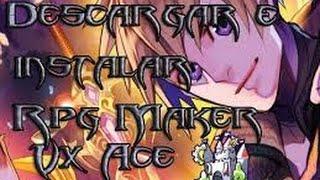 Como Descargar RPG Maker Vx Ace