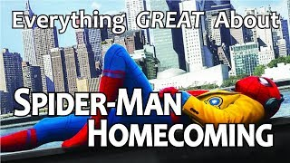 Download Youtube: Everything GREAT About Spider-Man: Homecoming!