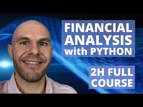 Financial Data Analysis with Python | 2h Full Course | Part 1/8 | Technical Analysis with DataFrames