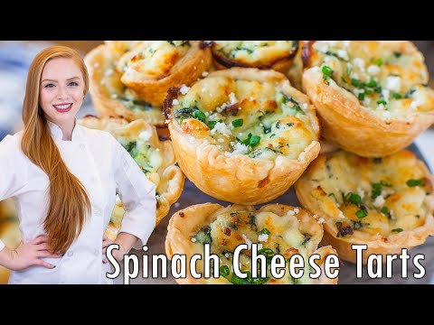 Spinach Panela Tartlets – Easy Appetizer Recipe!