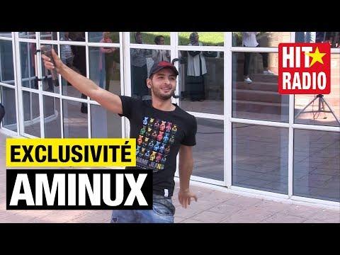 Pour la 1ère fois, Aminux en live de l'école Ryad Al Maârifa sur HIT RADIO - 10/09/15