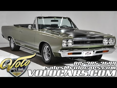 1968 Plymouth GTX (CC-1380545) for sale in Volo, Illinois