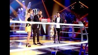 """Auxi y Pablo vs. José Antonio: """"Ya Lo Sabes"""" – Las Batallas - La Voz 2017"""