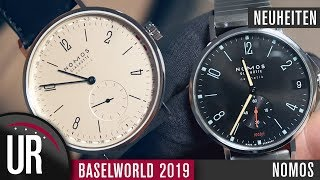 Nomos Baselworld 2019 Neuheiten | Tangente | Campus | Club