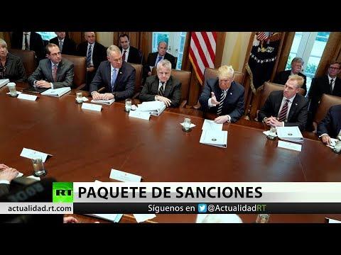 EE.UU. planea imponer más sanciones a Irán la próxima semana