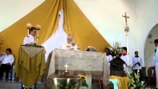 Ofertório - Missa De Páscoa - Paróquia De São José Operário - 08 Abr 2012