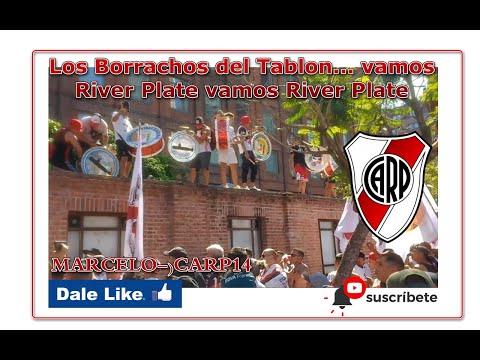 """""""Los Borrachos del Tablon... vamos River Plate vamos River Plate"""" Barra: Los Borrachos del Tablón • Club: River Plate • País: Argentina"""