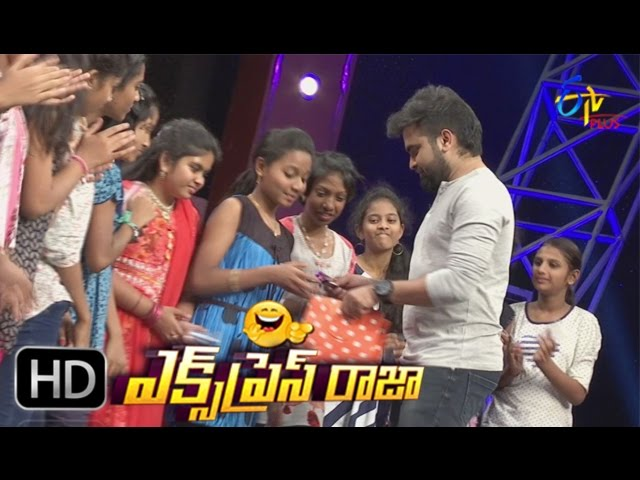 Express Raja – 22nd March 2017 – Full Episode   ETV Plus Game Show