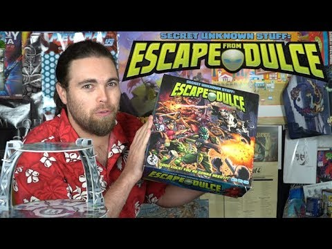 Escape From Dulce - Board Game Review