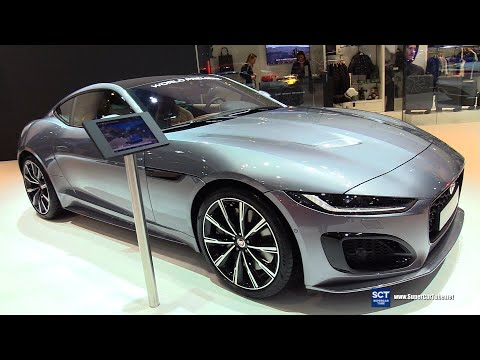 2020 Jaguar F Type Coupé - Exterior Interior Walkaround - World Debut 2020 Brussels Motor Show