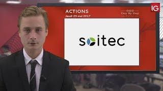 SOITEC - Bourse - Action Soitec, consolidation dans un triangle symétrique - IG 25.05.2017