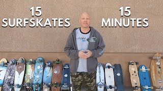 15 Surfskates Reviewed in 15 Minutes