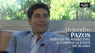 Alejandro Pazos - Gerente de Marketing & Comunicaciones de Scania